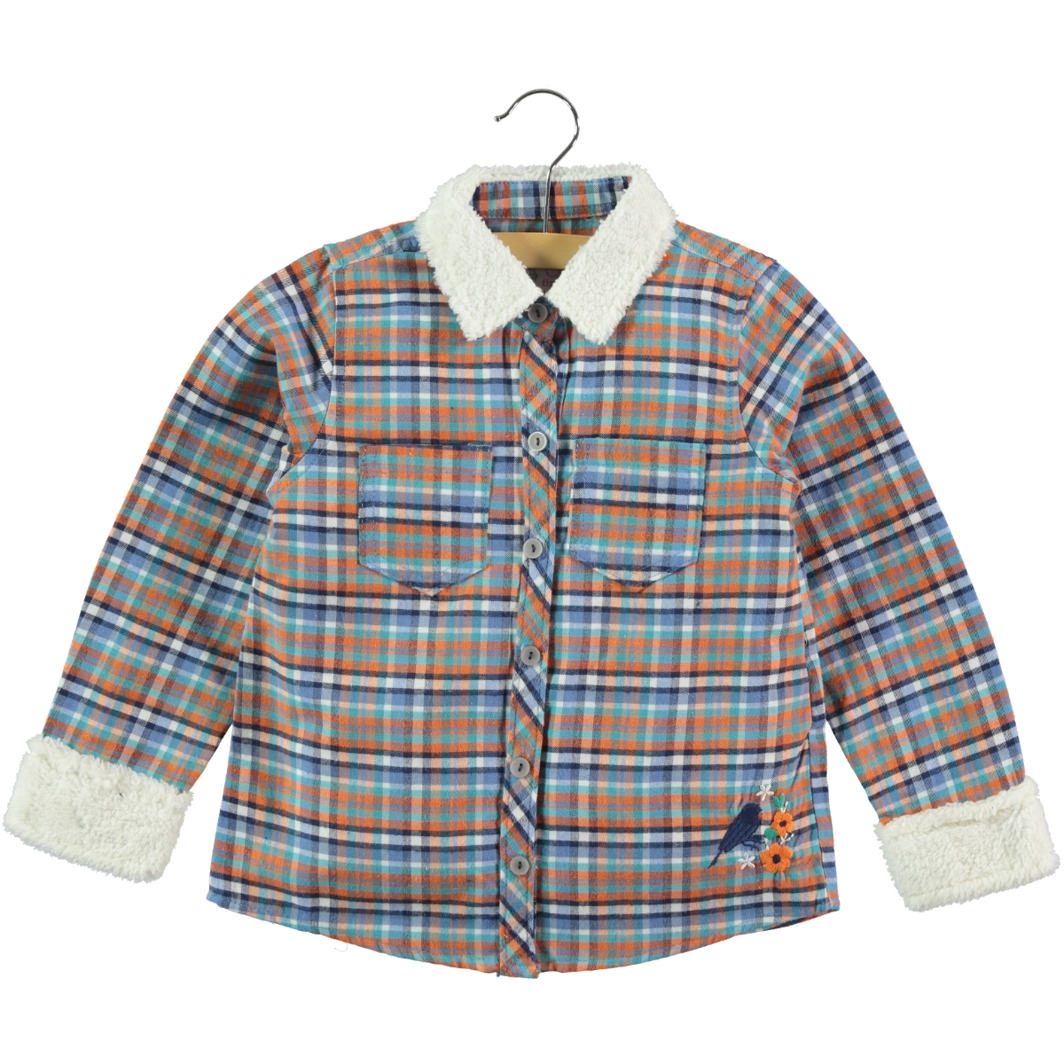 Timo Orange Shirt Boy Girl Age 6-9