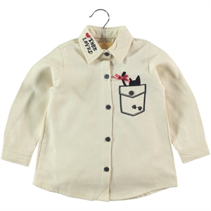 Timo Beige Shirt Boy Girl 2-5 Years