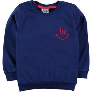 Civil Boys 2-5 Years Navy Blue Boy's Sweatshirt