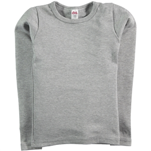 Civil Girls Gray Thermal Sweatshirt Of The Girl Child Ages 3-7
