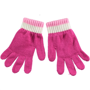Suve Man Child Gloves Age 6-9 Fuchsia