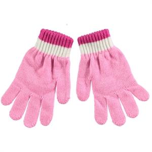 Suve Man Child Gloves Age 6-9 Pink