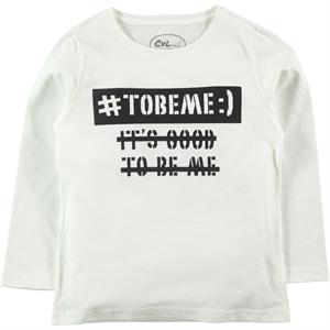 Cvl Age 6-9 Boy Sweatshirt Ecru