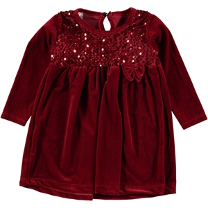 Nanik Red Girl Dress For 2-5 Age