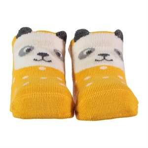 Step 0-6 Months Baby Ankle Socks-Yellow