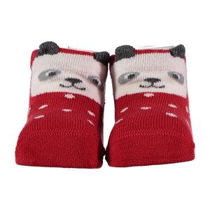 Step 0-6 Months Baby Ankle Socks Red