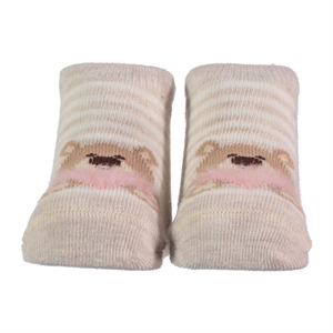 Step 0-6 Months Baby Ankle Socks Beige