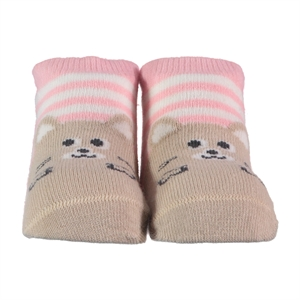 Step 0-6 Months Baby Ankle Socks Pink