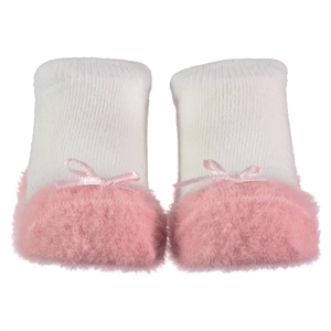 Step Powder 0-6 Months Baby Girl Ankle Socks