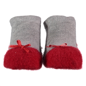 Step 0-6 Months Baby Girl Red Ankle Socks