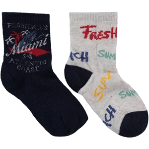 Civil Boy 2-sock Set navy blue 3-11 years