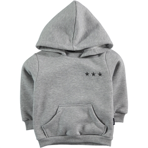Tuffy Age 1-4 Boy Gray Hooded Sweatshirt