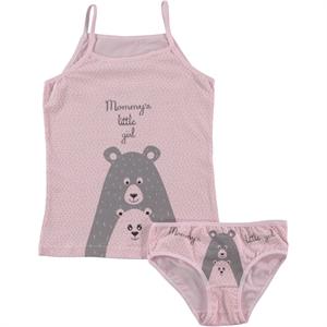 Donella Pink Underwear Girl Child Aged 2-10 Team