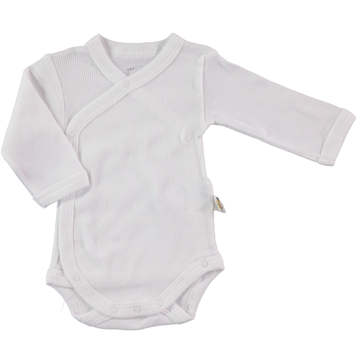 Minidamla Baby 0-6 Months White Shirt With Snaps