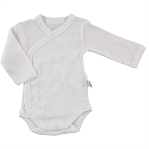 Minidamla Baby 0-6 Months White Shirt With Snaps (1)