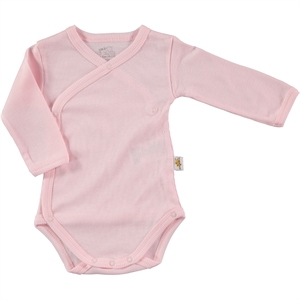 Minidamla Pink Baby 0-6 Months Bodysuit With Snaps