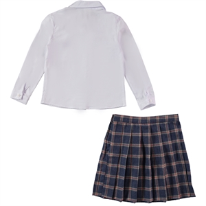 Missiva A Civil Suit Plaid Skirt Indigo Girls The Ages Of 6-9 (2)