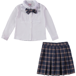 Missiva A Civil Suit Plaid Skirt Indigo Girls The Ages Of 6-9 (1)