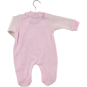 Civil Baby Oh Baby Booty Pink Baby Girl Overalls 0-3 Months (3)