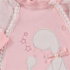 Civil Baby Oh Baby, Booty Baby Girl Overalls 0-3 Months Salmon (3)