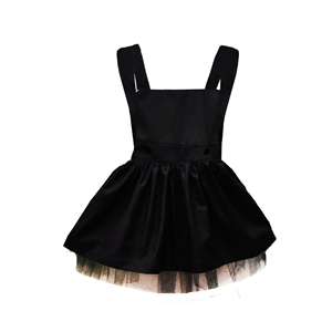 Shecco Babba Girls Black Dress Age 1-4