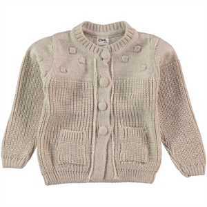 Civil Baby 9-18 Months Baby Girl Cardigan Stone