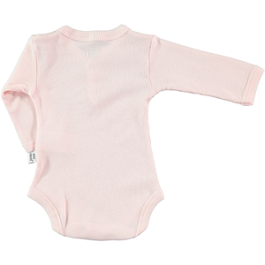 Minidamla 0-12 Months Baby Pink Bodysuit With Snaps (3)