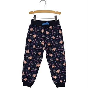Kukuli Navy Blue Sweatpants Boy Age 1-5 Cvl