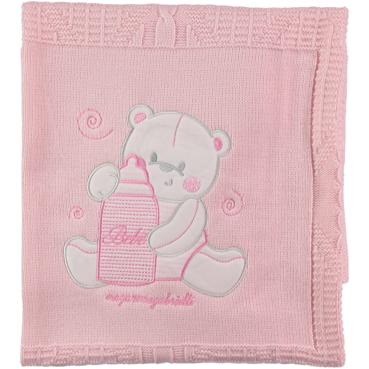 Civil Baby Baby girl Sweater Blanket Pink 95x75 Cm