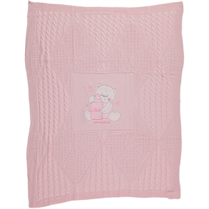 Civil Baby Baby girl Sweater Blanket Pink 95x75 Cm (2)