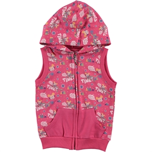 Tinky Hooded Fuchsia Vest Girl Age 1-5