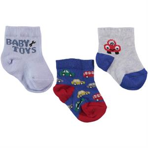 Civil Baby Baby boy 3-Months Blue Set of socks 0-18 Saks (1)
