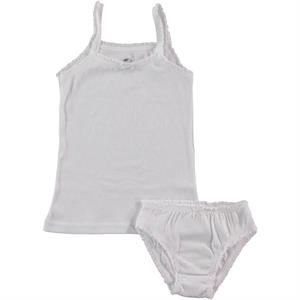 Şahin The Ages Of 1-12 Team White Combed Cotton Underwear