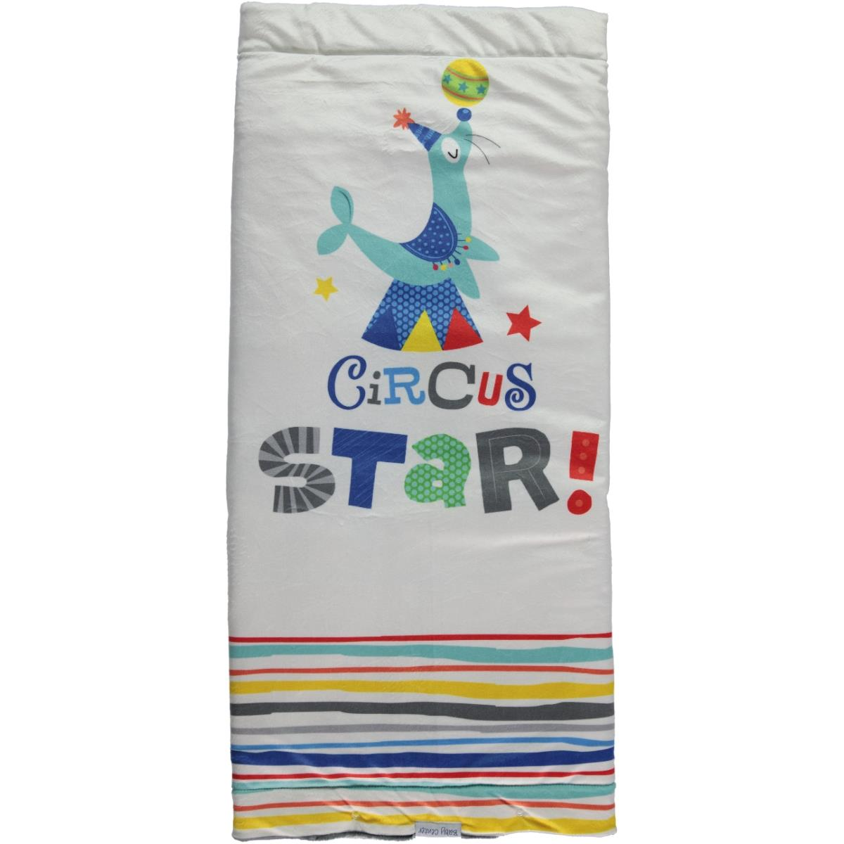 Baby Center Baby Blanket Circus Indigo