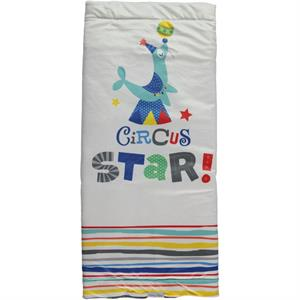 Baby Center Baby Blanket Circus Indigo (1)