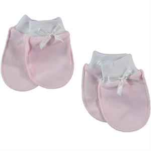 T.F.Taffy Baby Taffy 2-0-24 Months-Pink Gloves