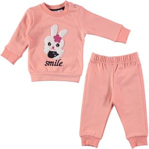 Haliş 6-18 Months Baby Girl Light Tan Suit