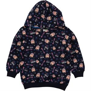 Kukuli Boy Navy Blue Hooded Sweatshirt Age 1-5