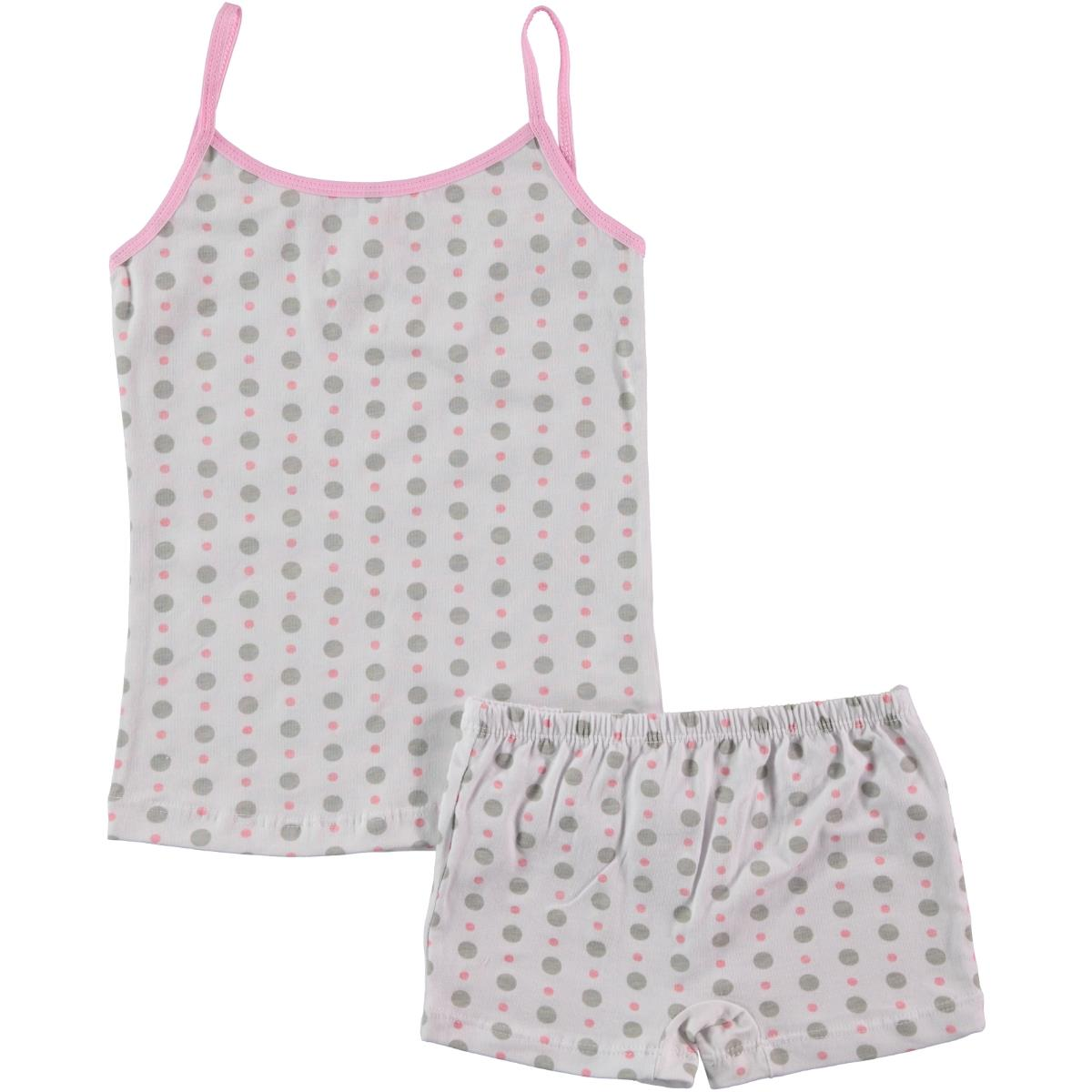 Civil Boy girl polka-dot underwear pink the ages of 2-10 team