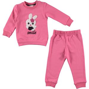 Haliş 6-18 Months Baby Girl Team Pink