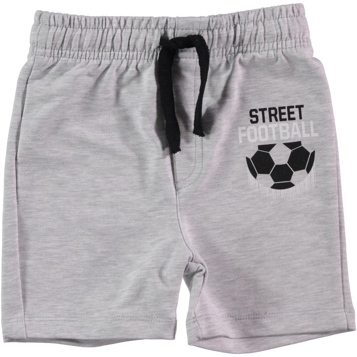 Cvl Gray Boy Shorts 2-5 Years