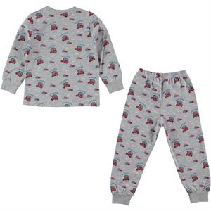 Düt Düt Pajama Boy Outfit Gray 2-5 Years (1)