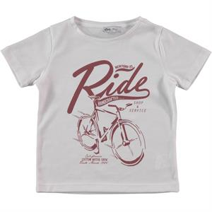 Cvl Boy T-Shirt Burgundy 2-5 Years