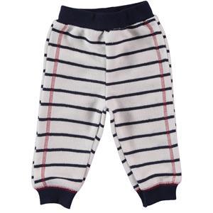 Kujju 6-18 Months Baby Boy Navy Blue Striped Single Child Patiksiz