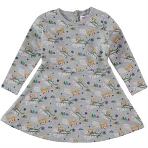 Tinky Grey Girl Dress Age 1-5