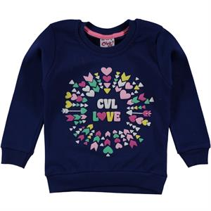 Civil Girls 2-5 Years Kids Girl Sweatshirt Navy Blue