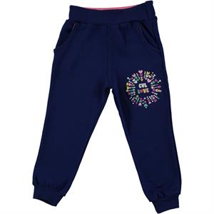 Civil Girls 2-5 Years Navy Blue Sweatpants Girl