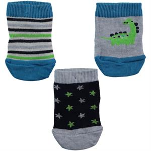 Civil Baby Baby boy 3-Yesil Set of socks 0-18 Months