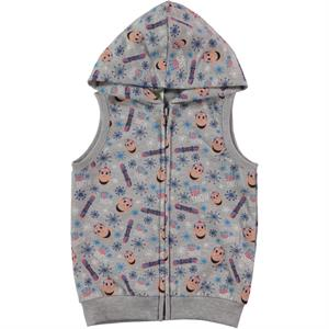 Kukuli Boy's Gray Hooded Vest 2-5 Years