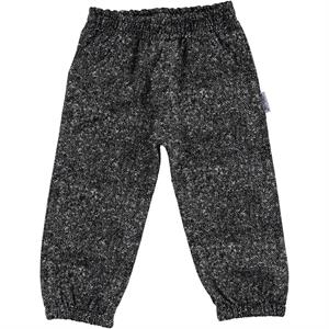 Gülücük 2-5 Years Black Children's Sweatpants